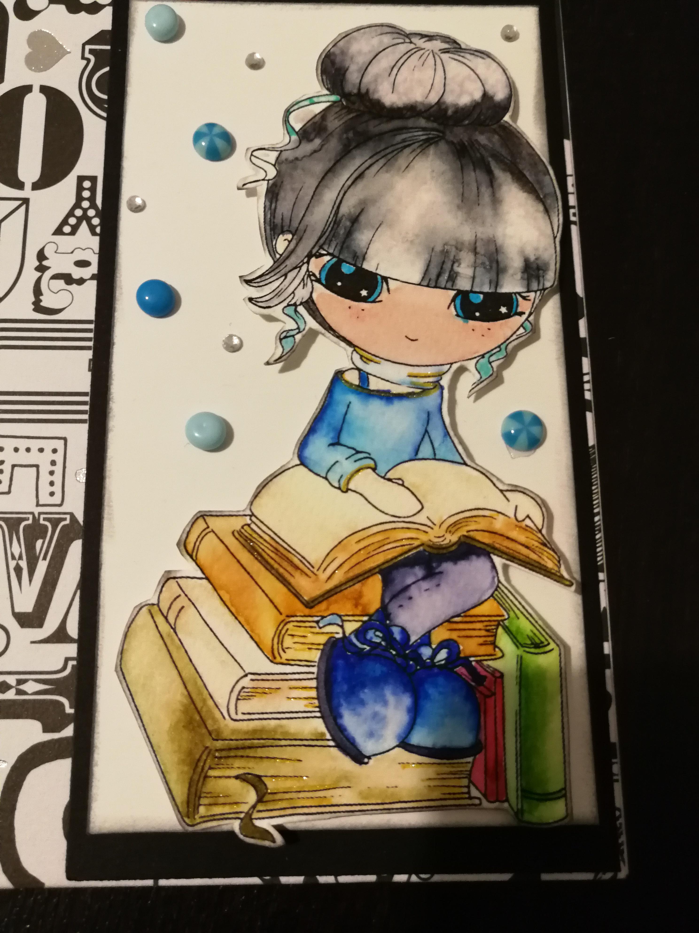 Card per un'amante della lettura