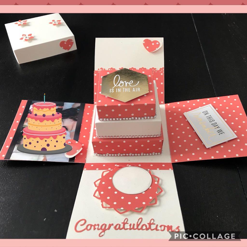 Explosion Box per Matrimonio