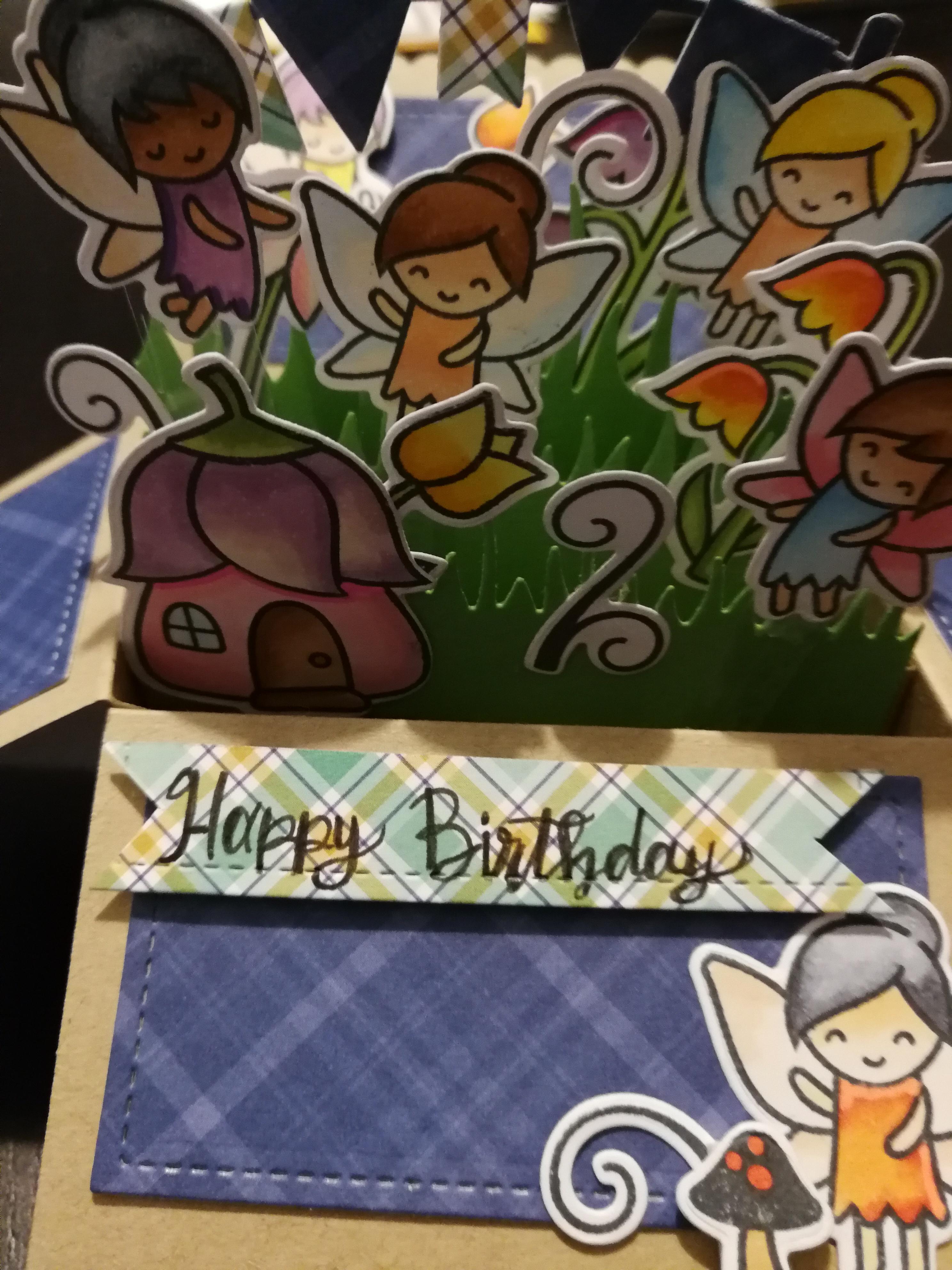 Card Pop-Up