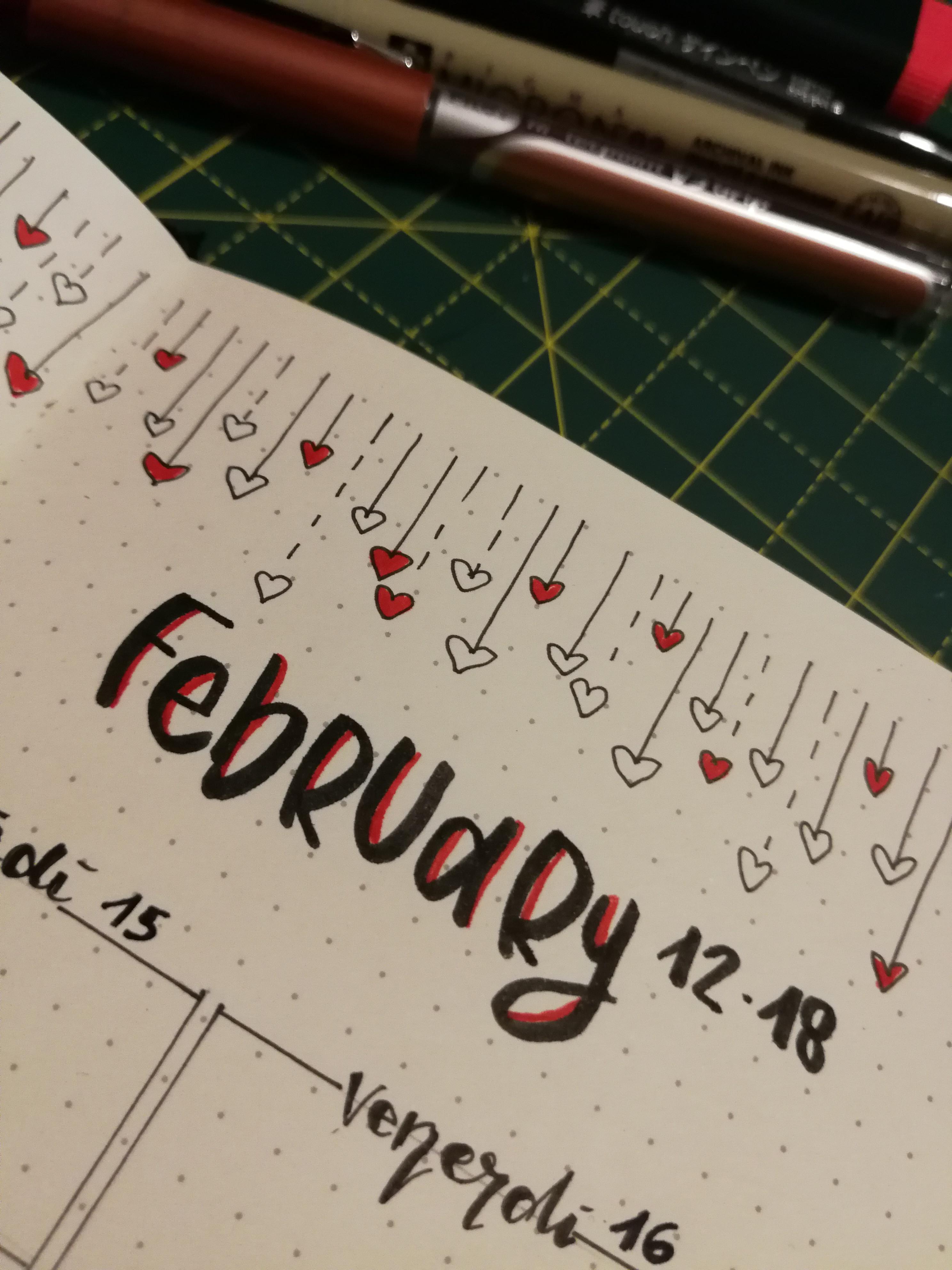 Bullet Journal: week # 7