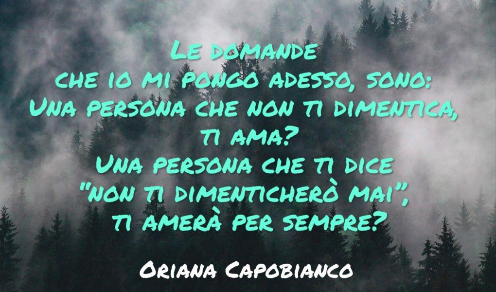 Citazione Oriana Capobianco