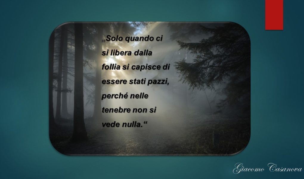 4 Giugno 2019 - Giacomo Casanova