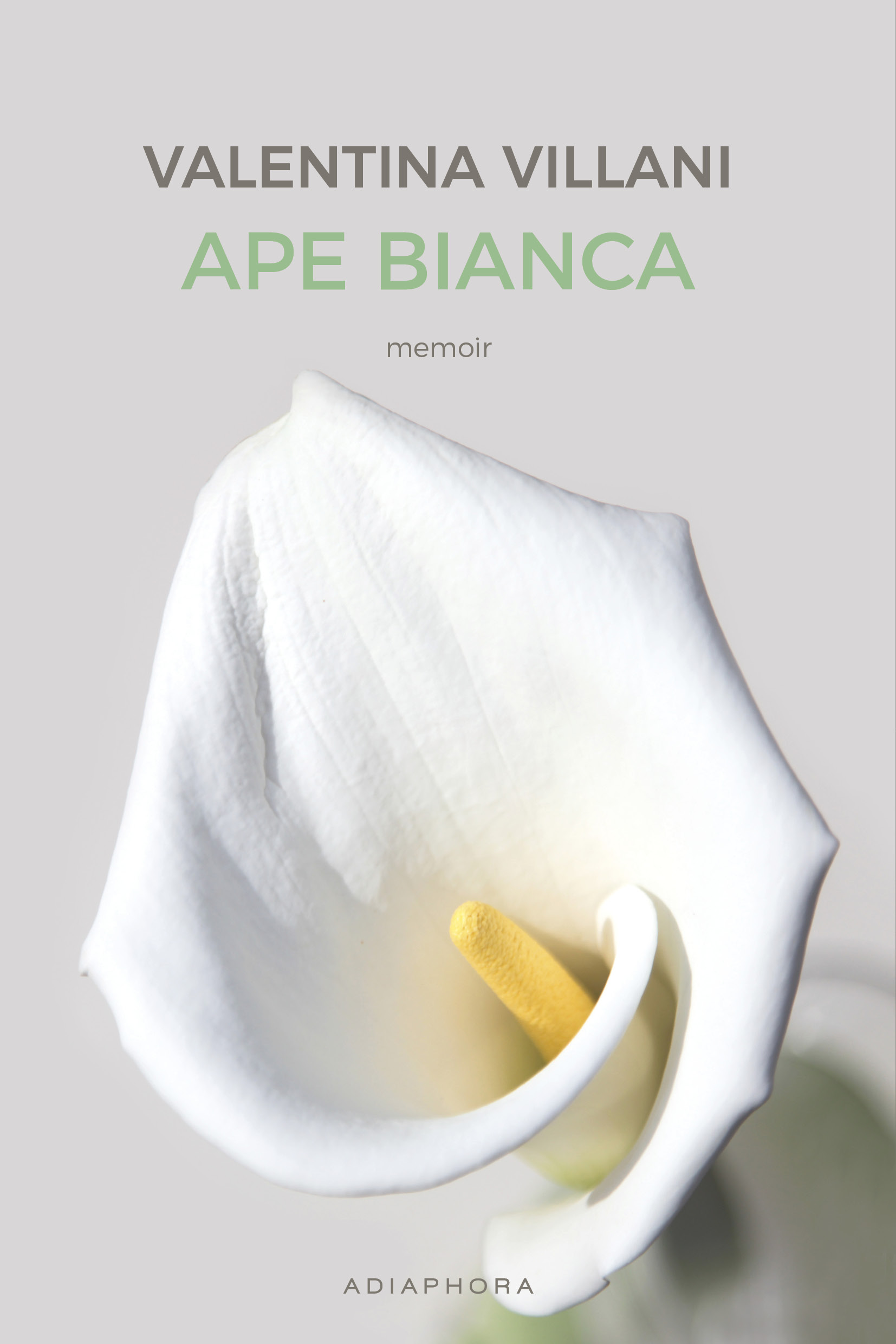 APE BIANCA 2019 - COVER FRONT