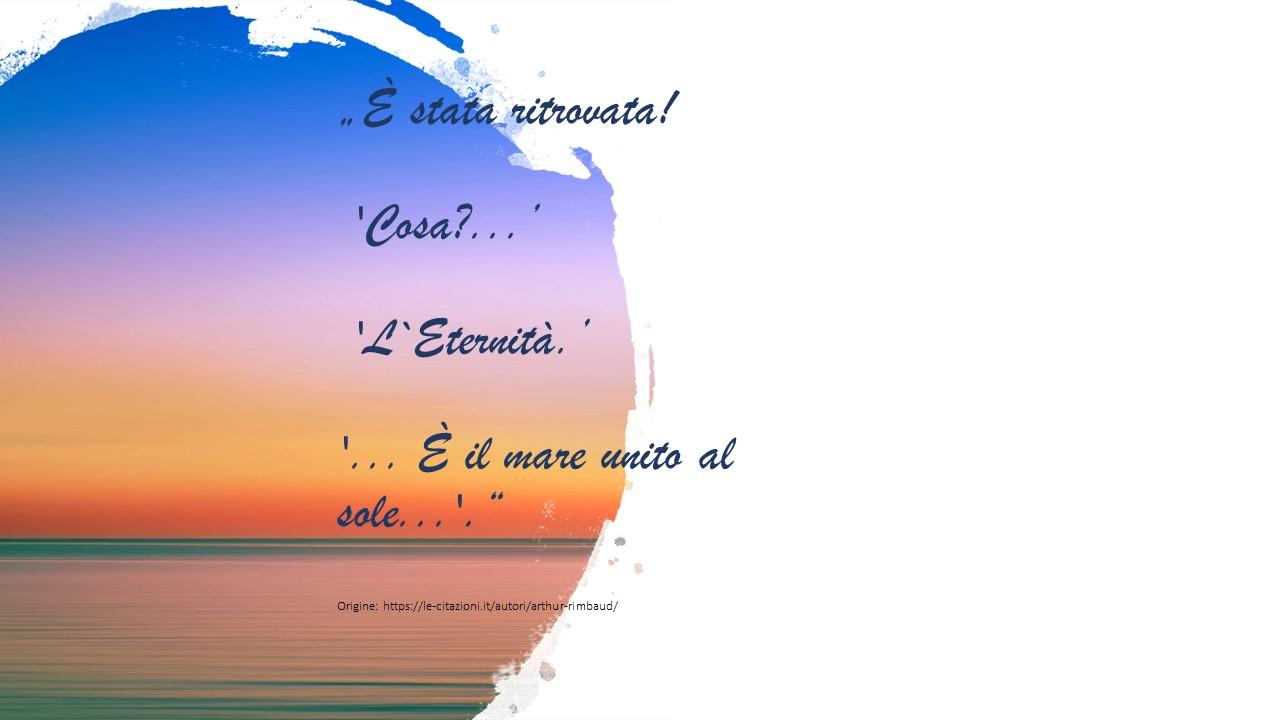 20 Ottobre Rimbaud poeta