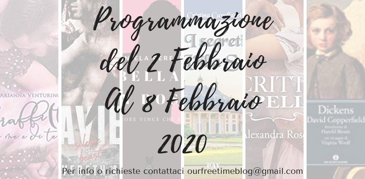Programmazione dal 2 al 8 Febbraio 2020
