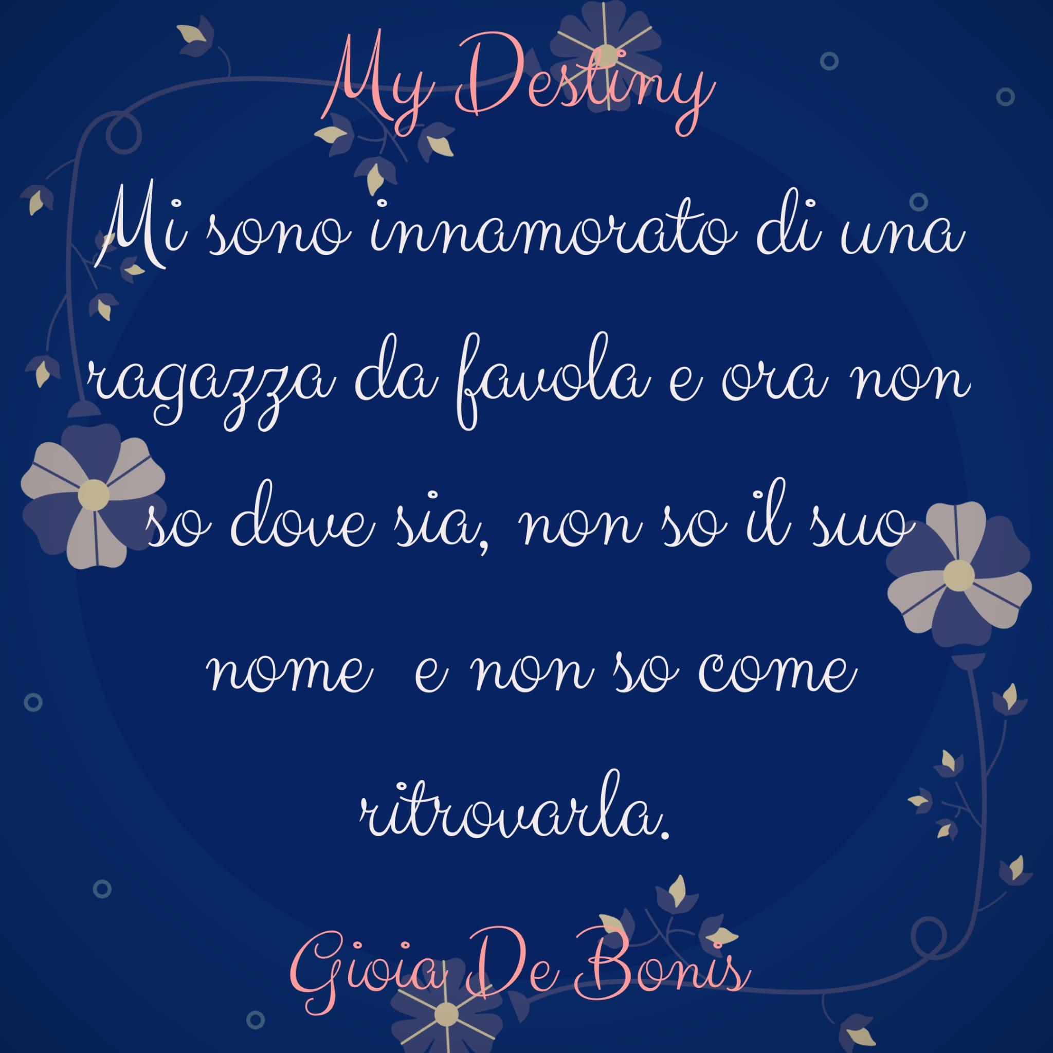 My Destiny Azzurro