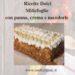 Ricette Dolci Millefoglie con panna, crema e mandorle