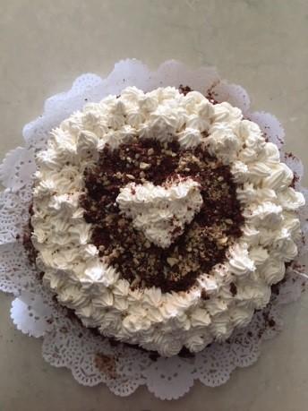 torta cioccolato e panna 12
