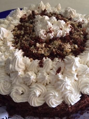torta cioccolato e panna 14