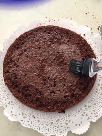 torta cioccolato e panna 6